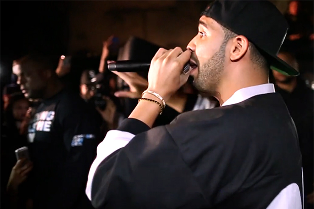 13thWitness Shoots Drake's NWTS ALIFE Sessions | Video