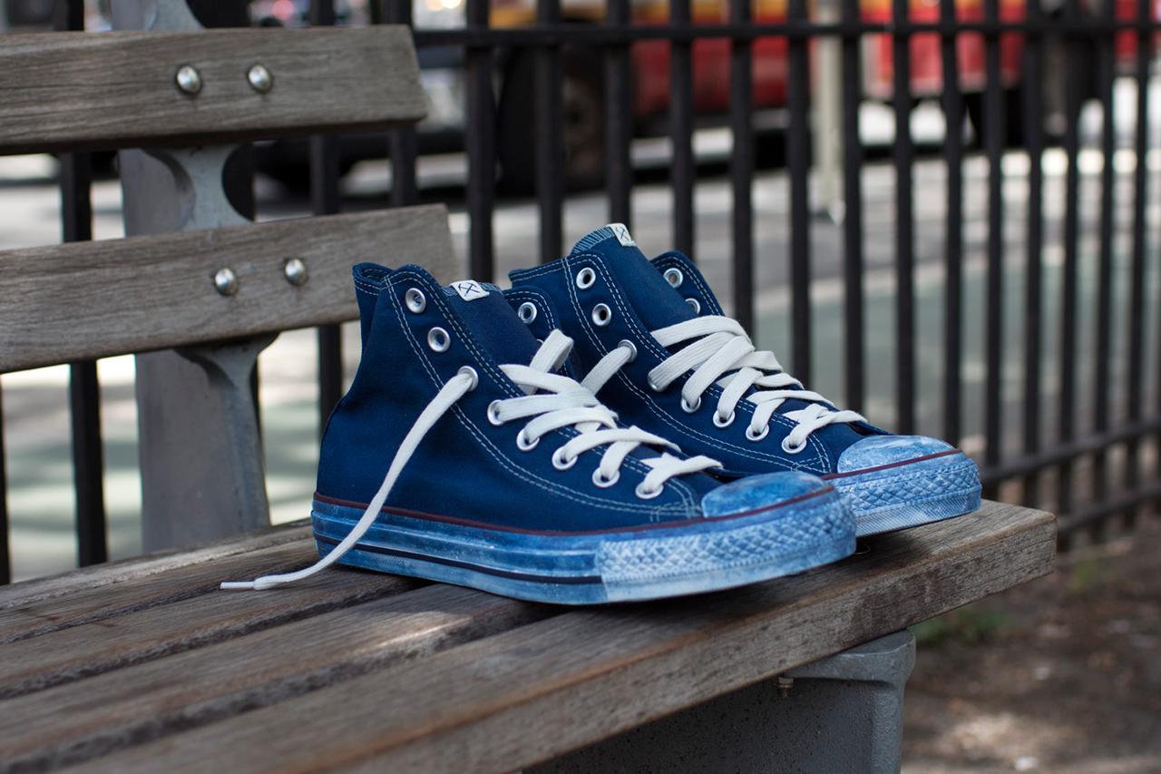 3sixteen x converse indigo dyed chuck taylor all star