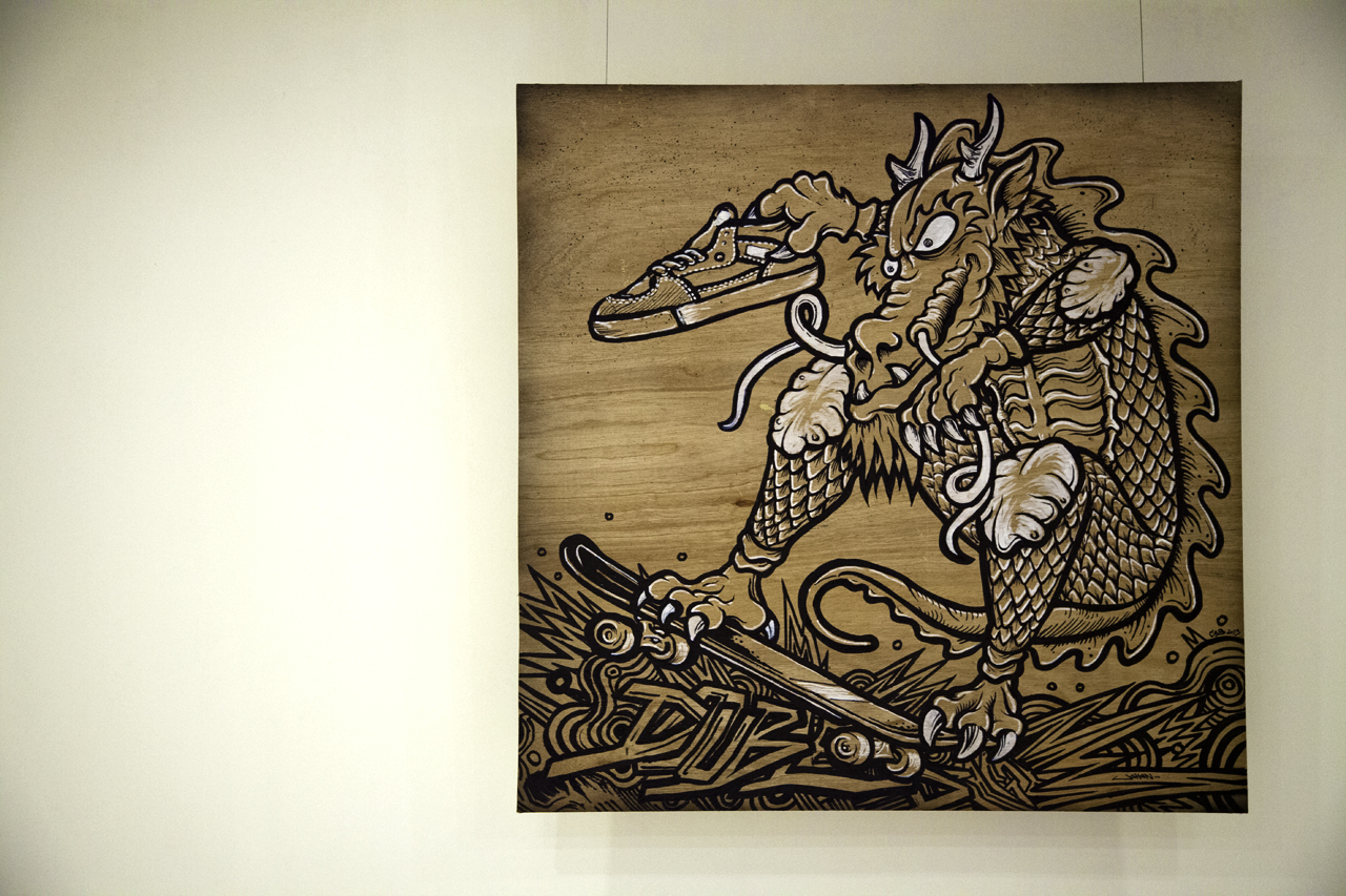 steve caballero and jahan loh talks about double dragon exhibition skateboarding and art