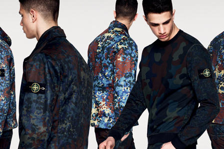Stone Island 2013 Fall/Winter Camouflage