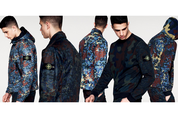 stone island 2013 fall winter camouflage