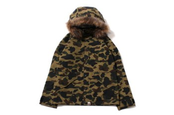 A Bathing Ape 2013 Fall/Winter 1ST CAMO GORE-TEX ECWCS HOODIE