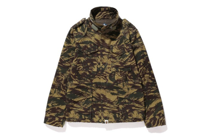 A Bathing Ape 2013 Fall/Winter LIZARD CAMO M-65