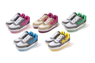 A Bathing Ape 2013 Fall/Winter NEON COLOR ROAD STA