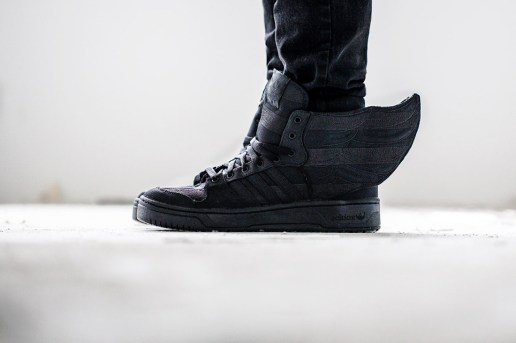 A Closer Look at the A$AP Rocky x adidas Originals by Jeremy Scott JS WINGS 2.0 BLACK FLAG