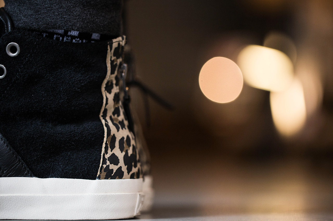 A Closer Look at the INVINCIBLE for Converse First String Jack Purcell Johnny