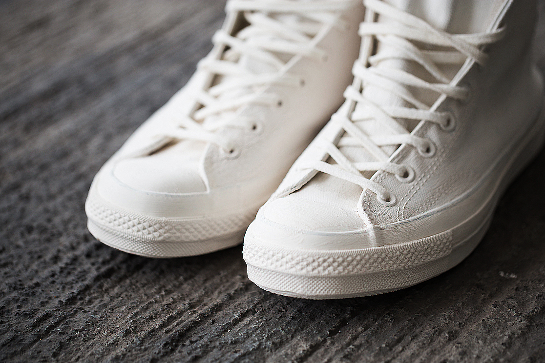 a closer look at the maison martin margiela x converse first string collection
