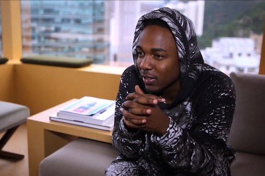 A Conversation on Style with Kendrick Lamar
