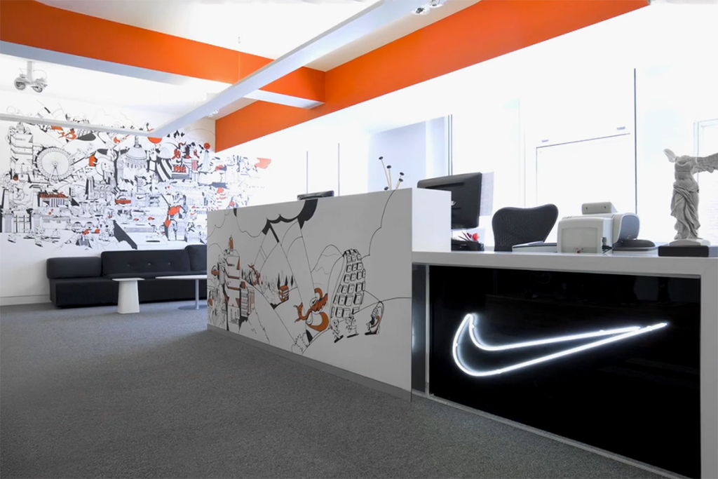 A Redesign of Nike's London HQ