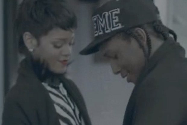 A$AP Rocky - Fashion Killa Starring Rihanna | Video