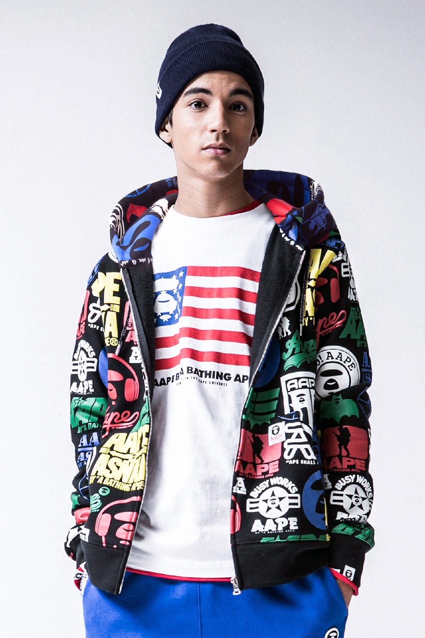 AAPE by A Bathing Ape 2013 Fall/Winter Lookbook
