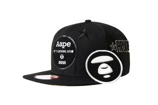 AAPE by A Bathing Ape x New Era Seoul Limited Edition Cap