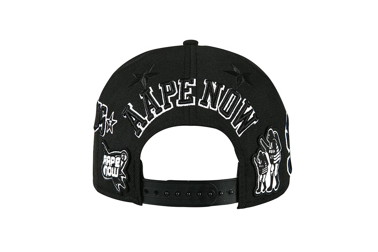 aape by a bathing ape x new era seoul limited edition cap