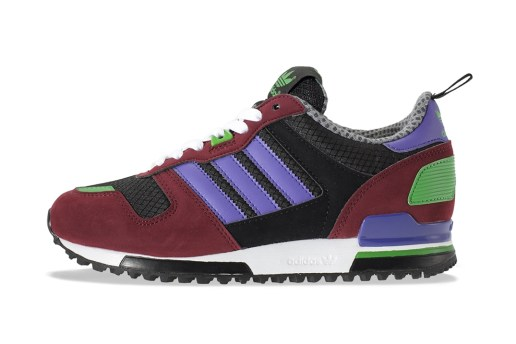 adidas Originals ZX700 Black/Purple/Maroon