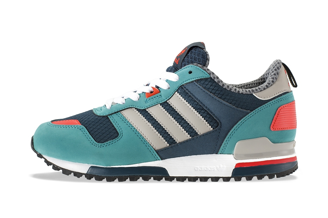 adidas Originals ZX700 Deep Petrol/Chrome/Steel