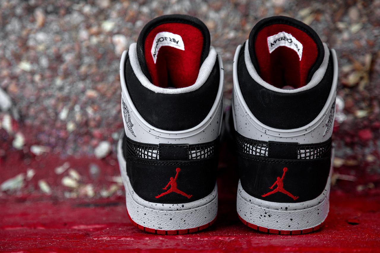 Air Jordan 1 Retro '89 Black/Fire Red