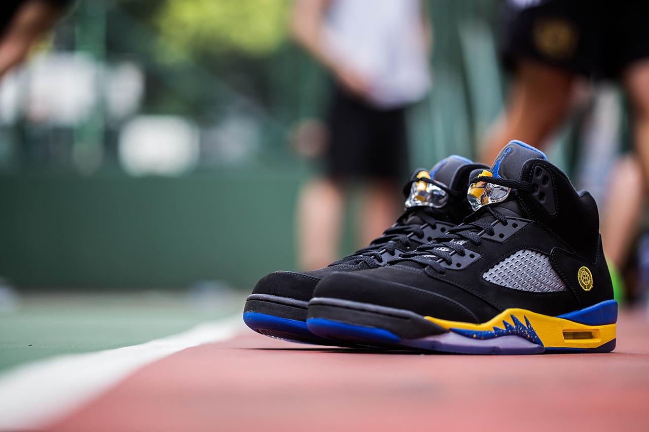 """Air Jordan 5 """"Shanghai Shen"""""""