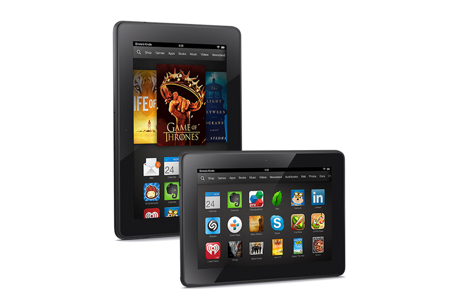 Amazon Introduces the Kindle Fire HDX