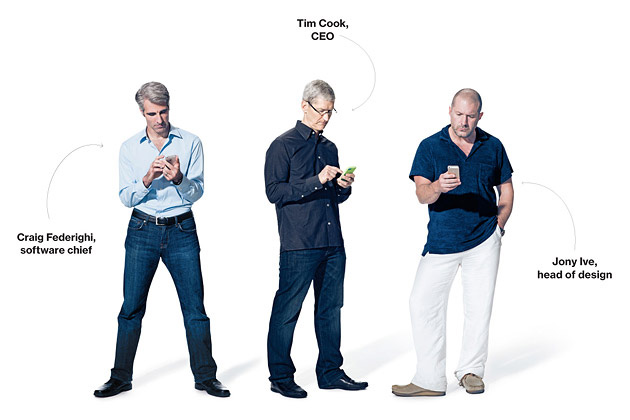 Apple Chiefs Discuss Strategy, Market Share, and the New iPhones
