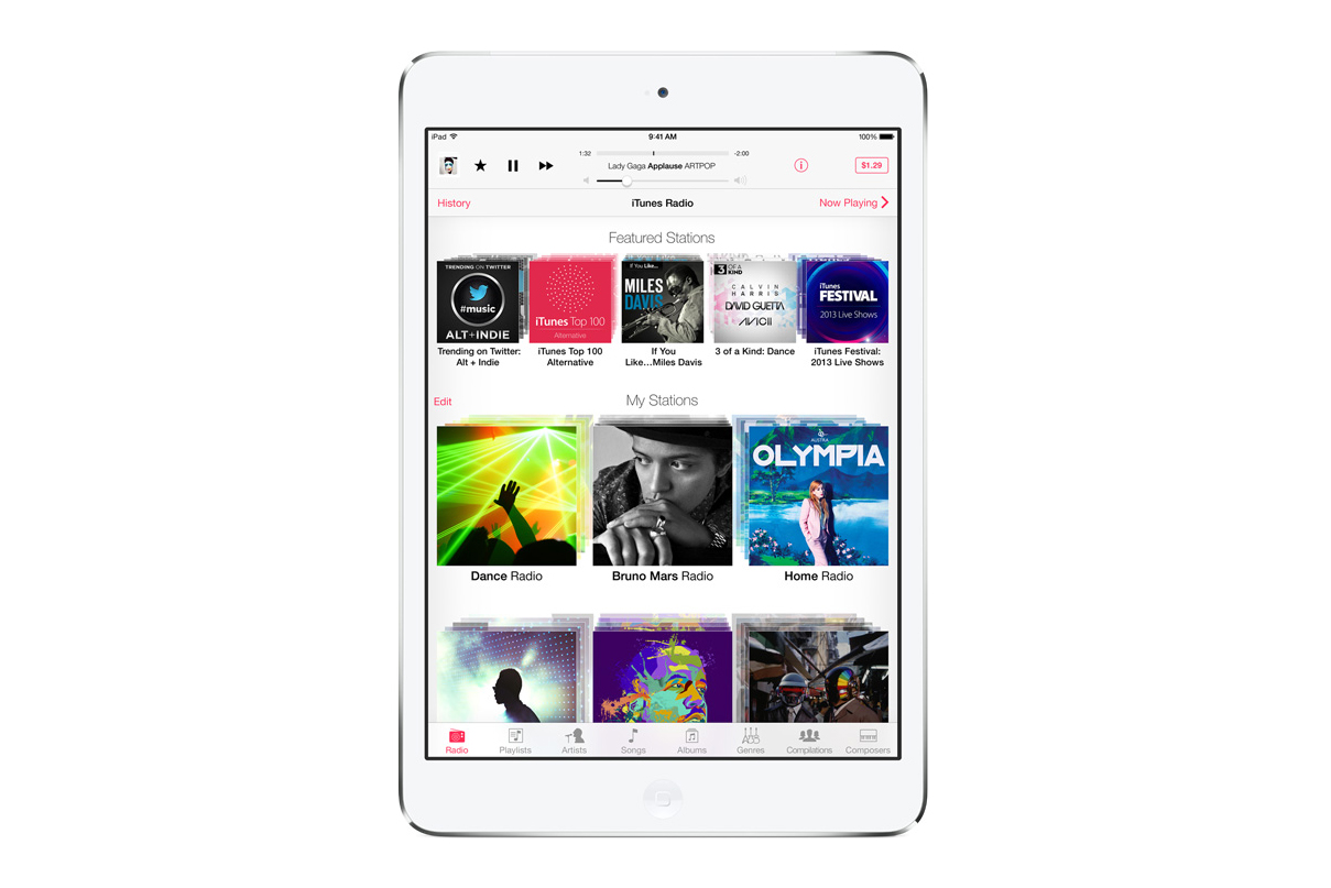 Apple Launches iTunes Radio