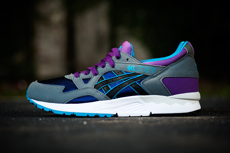 asics gel lyte v grey purple