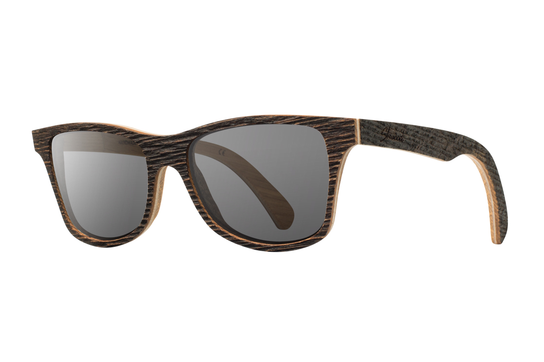 aurora mills x shwood salvaged series barn wood canby sunglasses