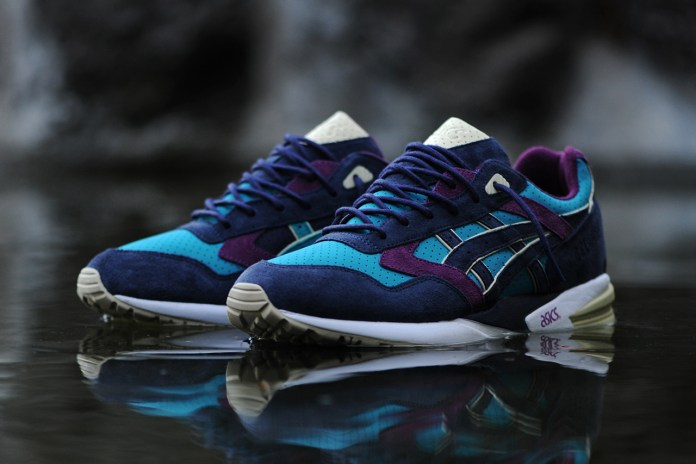 "BAIT x ASICS Gel Saga ""Phantom Lagoons"" Preview"