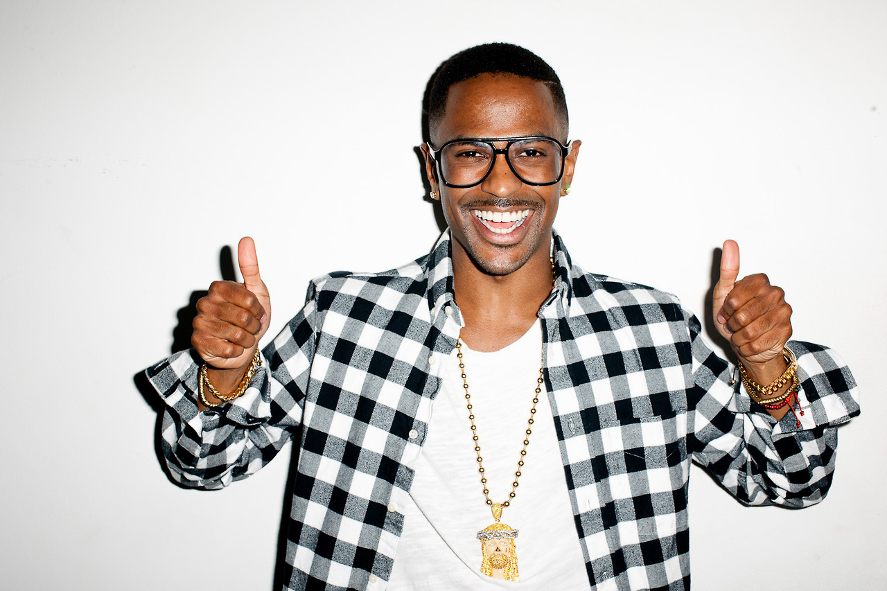 big sean naya rivera visit terry richardsons studio