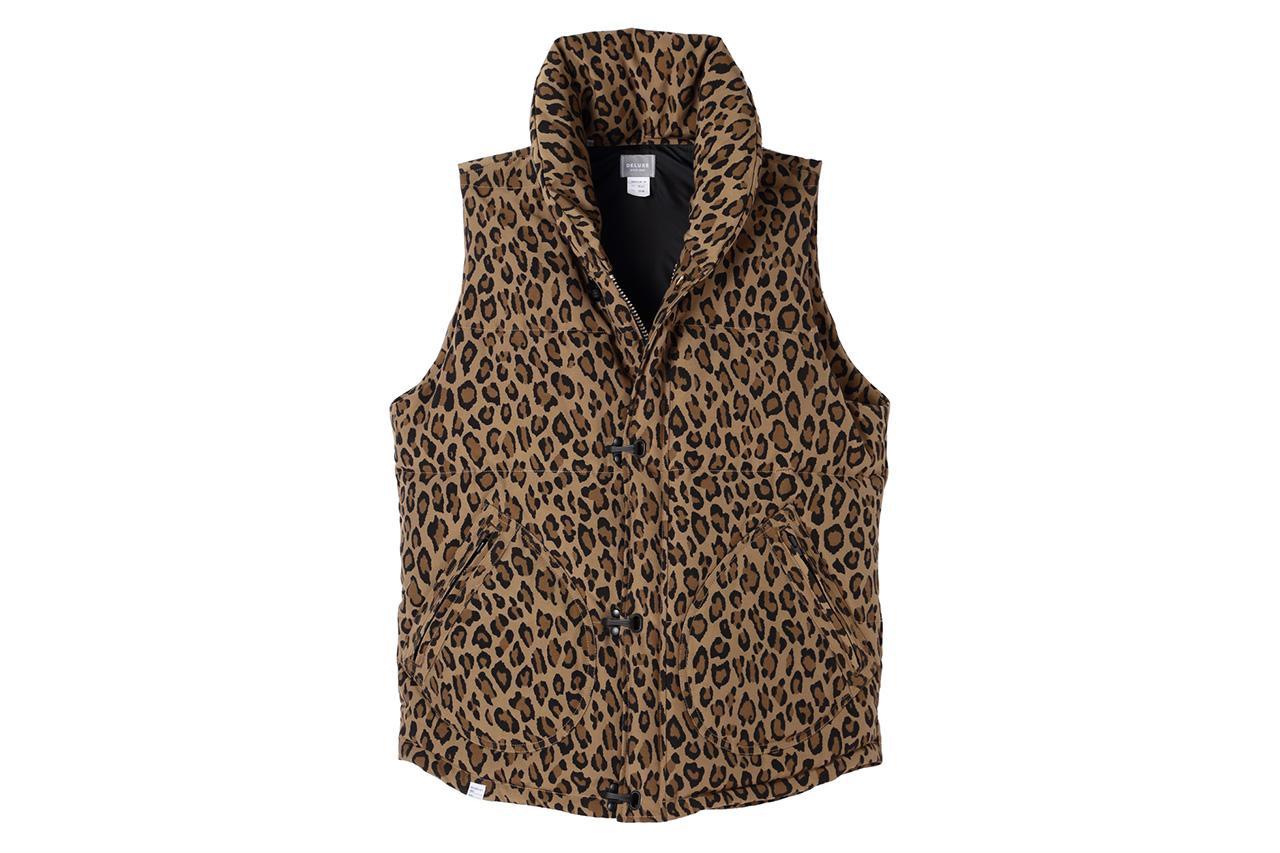 BLACK SENSE x Deluxe 2013 Fall/Winter Leopard Pattern Down Vest