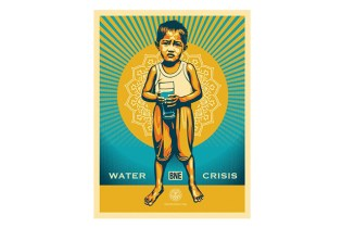 BNE x Shepard Fairey Print for charity: water