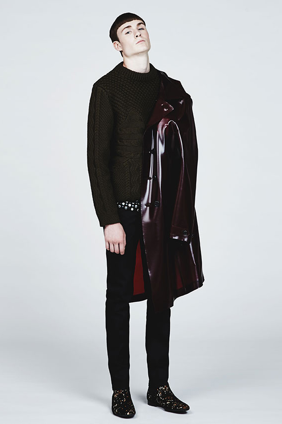 burberry prorsum 2013 fall winter check mate editorial by ssense