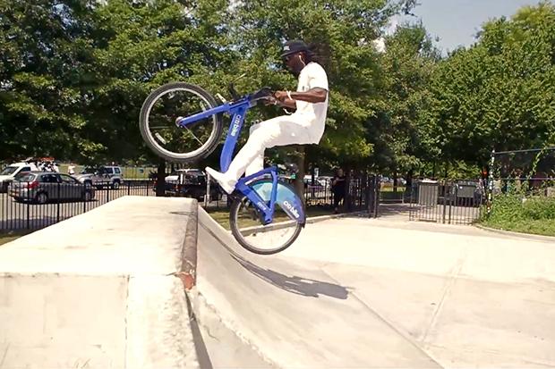 Citi Bike BMX with Tyrone Williams