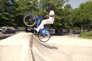 Citi Bike BMX with Tyrone Williams