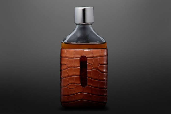 Coach x Billy Reid Whiskey Flasks