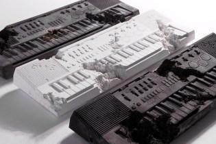 Daniel Arsham x Pharrell x Casio MT-500 Volcanic Ash