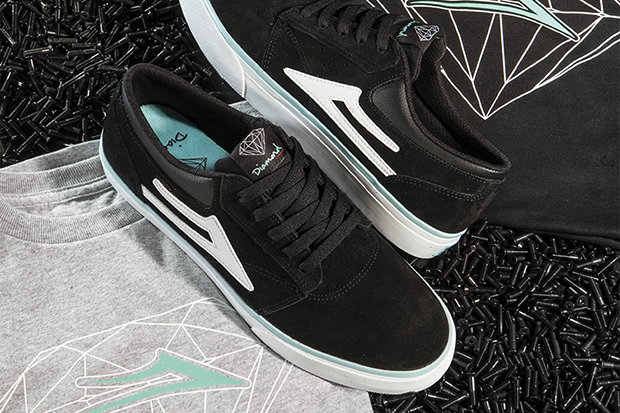 diamond supply co x lakai griffin pack