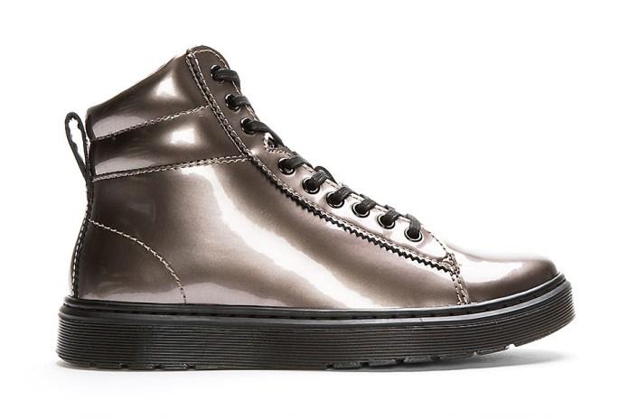 Dr. Martens 9-Eye Jered Boot Metallic Pewter