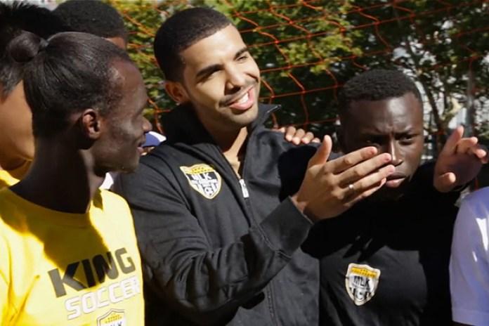 Drake Hits New York City for FIFA 14 | Video