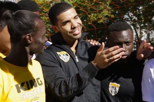 Drake Hits New York City for FIFA 14 | Video