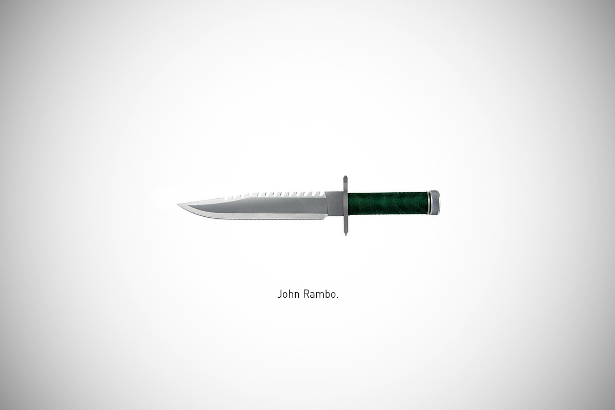 Federico Mauro's Famous Blades Series