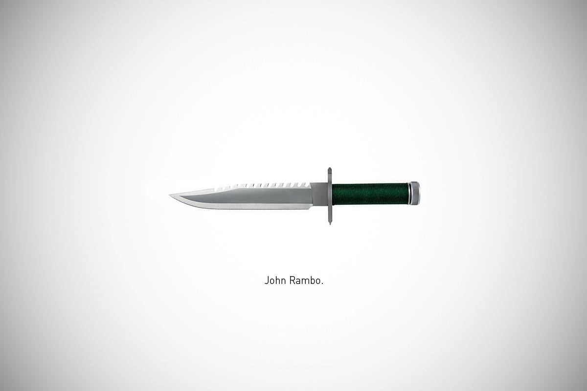 Federico Mauro's Famous Blades Series