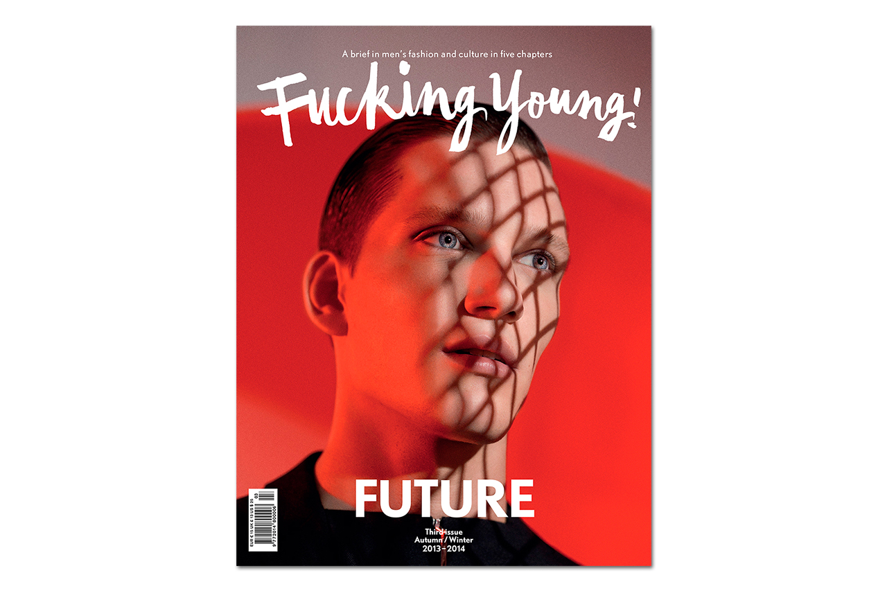 """Fucking Young! 2013 Fall/Winter """"FUTURE"""" Issue"""