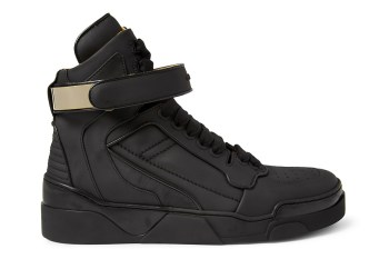 Givenchy 2013 Fall Leather High Top Sneakers Collection