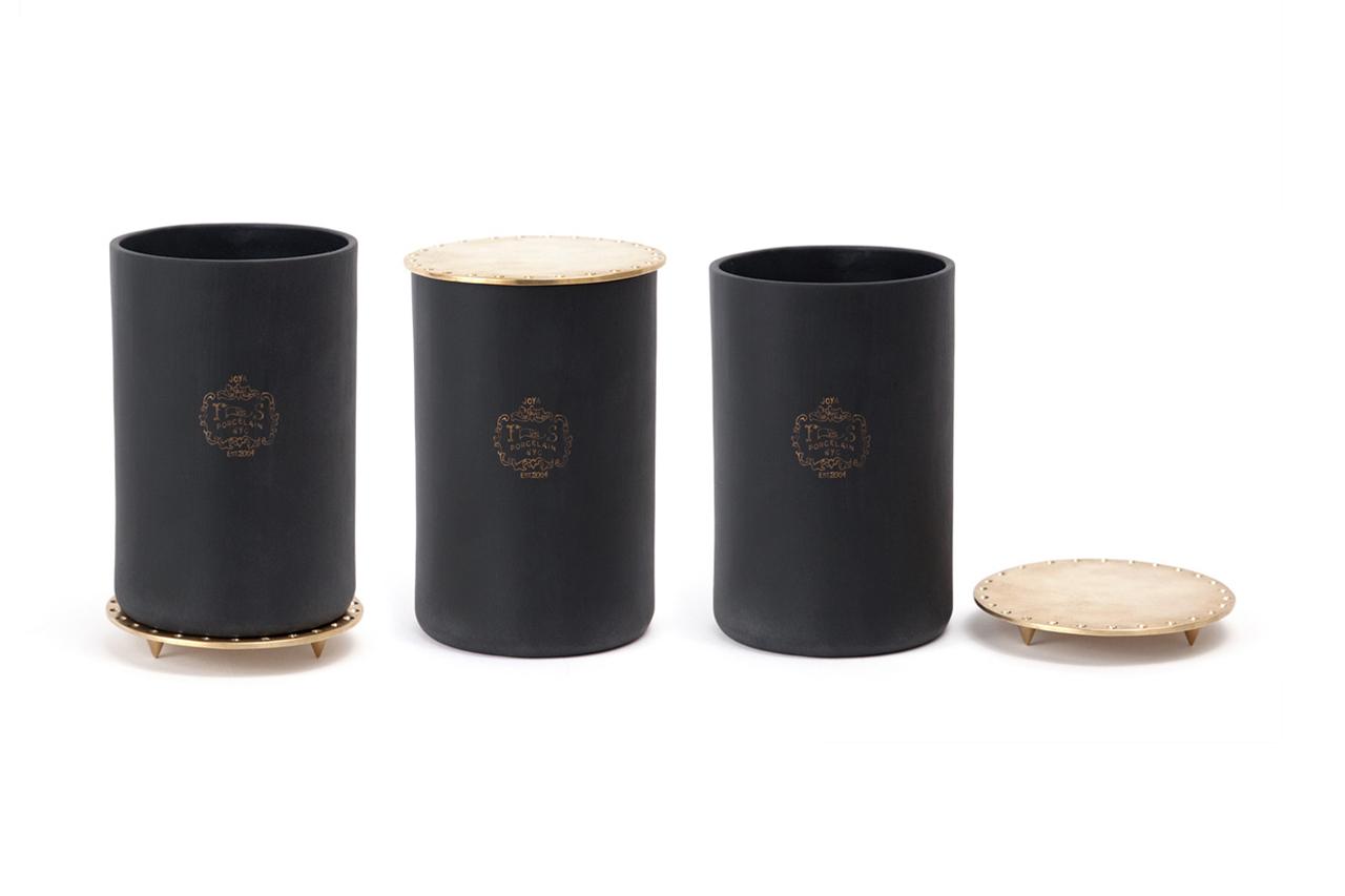 "Harrods of London x Joya ""Oud, Leather & Plume Cedar"" Candle"