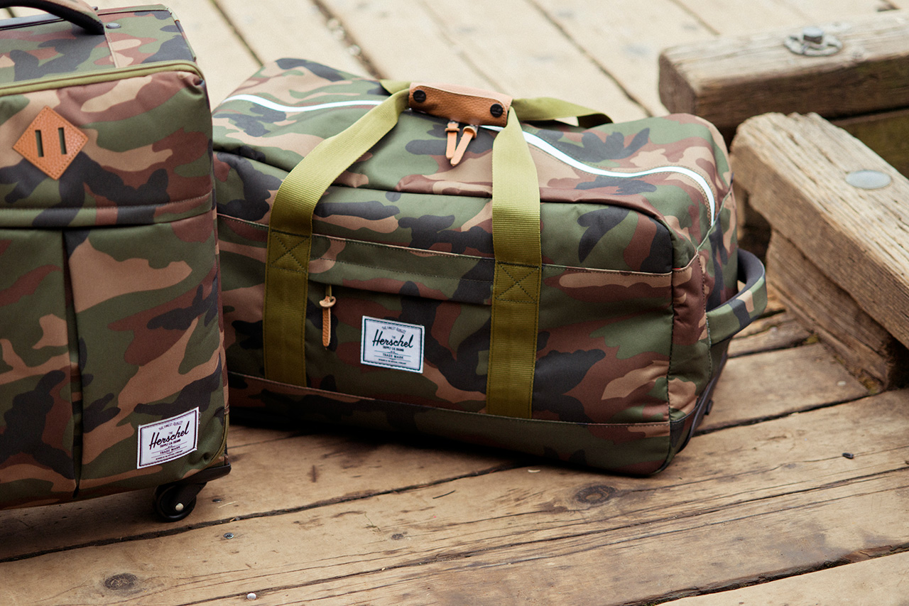 herschel supply co 2013 fall winter travel colleciton