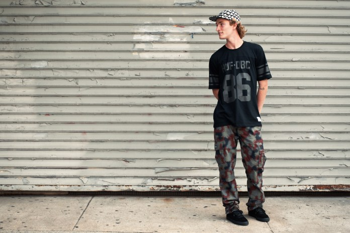 "HUF 2013 Fall/Winter ""Piece By Piece"" Lookbook"