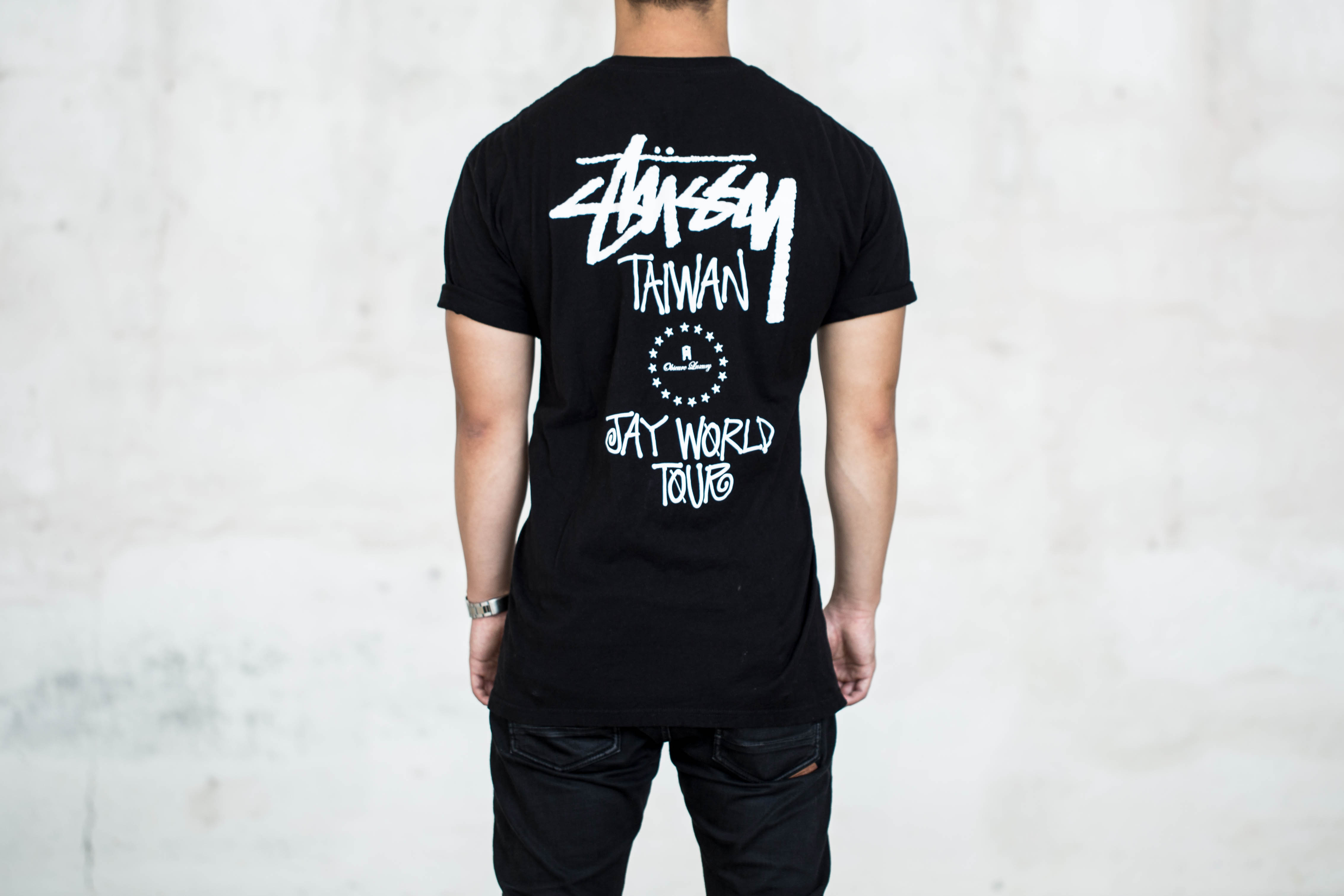 jay chou x phantaci x stussy opus world tour t shirt