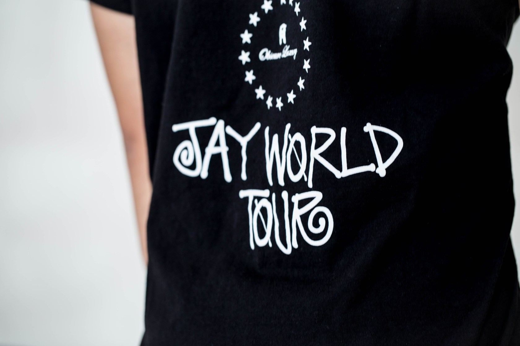 Jay Chou x PHANTACi x Stussy OPUS World Tour T-Shirt