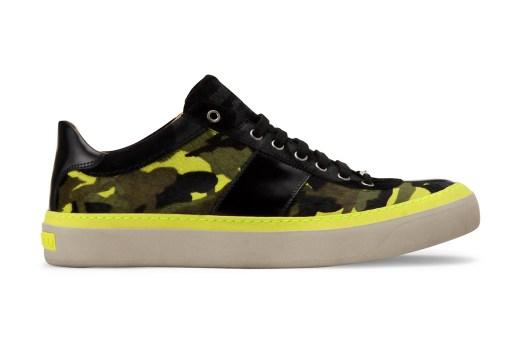 Jimmy Choo Camouflage Print Sneaker
