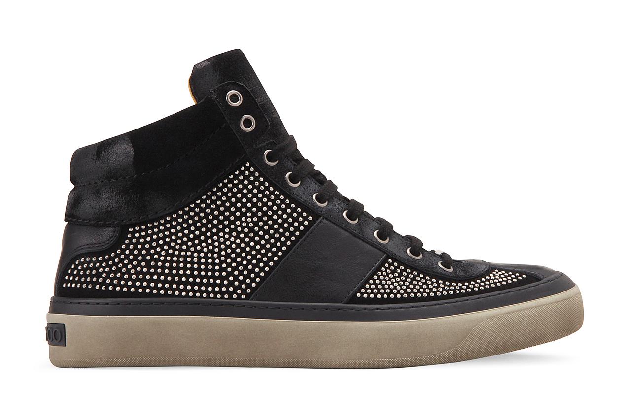 Jimmy Choo Suede Studs Sneaker | HYPEBEAST